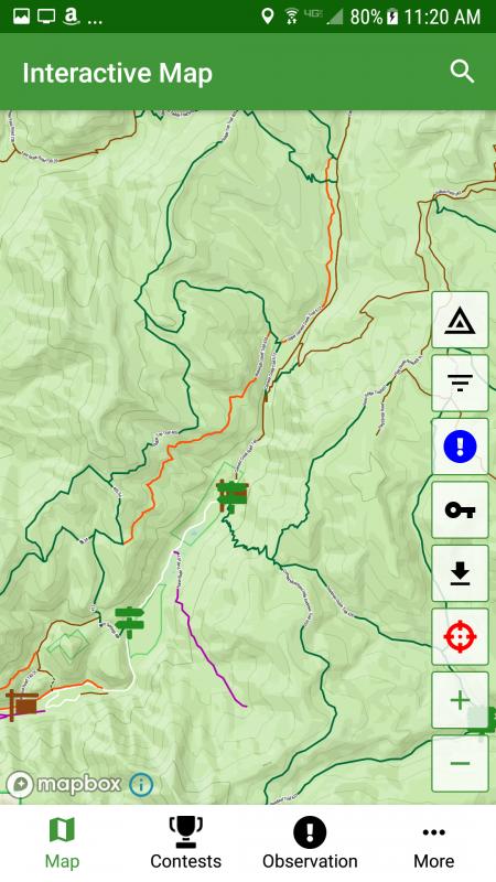 CBG Trails app