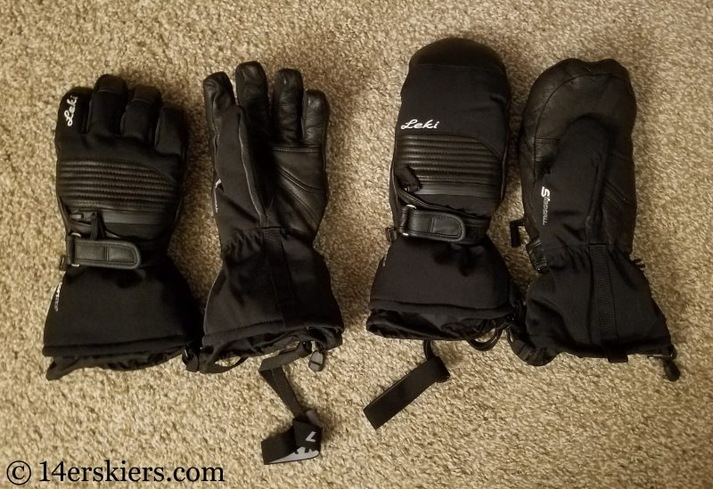 LEKI Explore glove and mitten