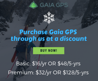 Purchase Gaia GPS at a discount
