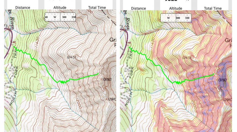 Using Gaia GPS App for backcountry skiing navigation