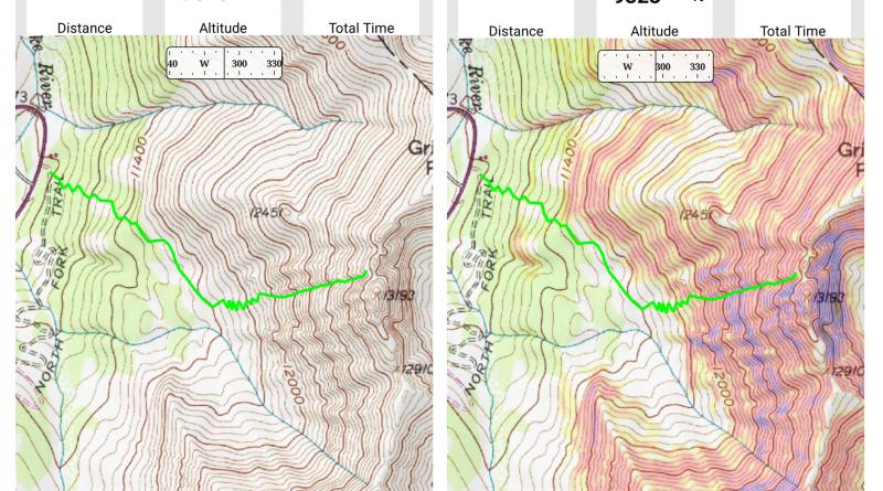 Using Gaia GPS App for backcountry skiing navigation