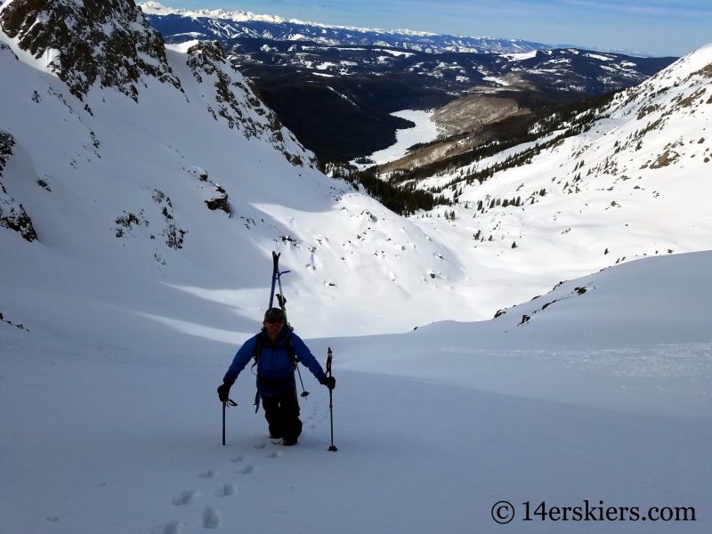 backcountry skiing Mount Powell