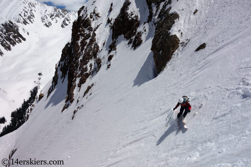Backcountry skiing Crested Butte, El Nacho