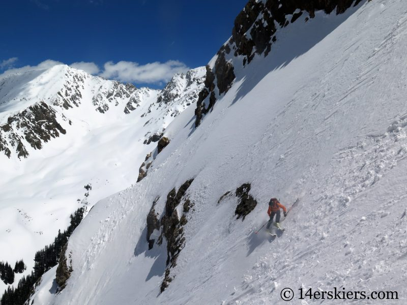 Backcountry skiing Crested Butte - El Nacho