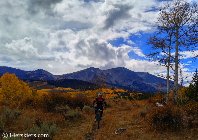 Riding Beneath Beautiful Mount Sopris (Hay Park)
