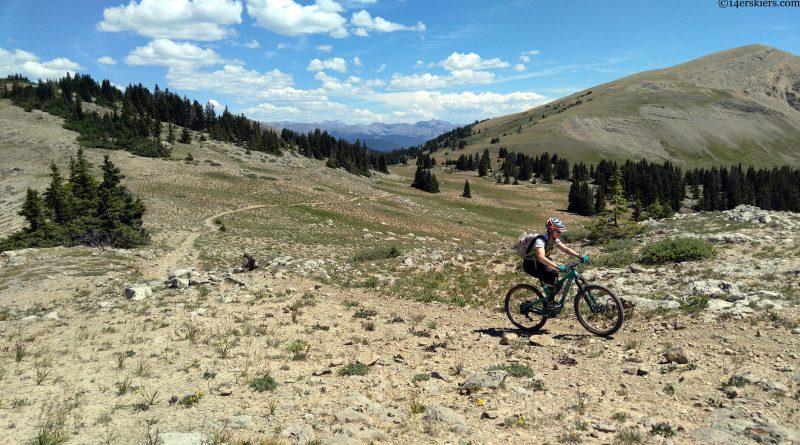 TR:  Mountain Biking Fossil Ridge 8.19.17