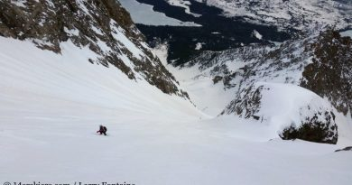 Mt. Moran Skillet Ski – My Bucket List (5 May 2019)