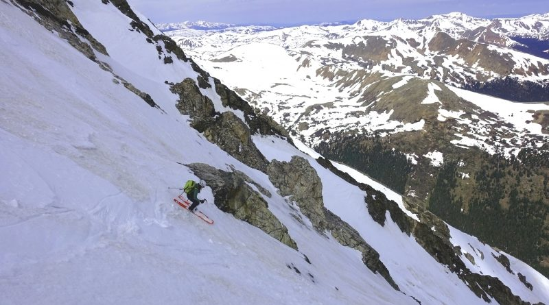 TR: Late Season Lines – The Emperor Couloir on Torreys (26 June 2019)
