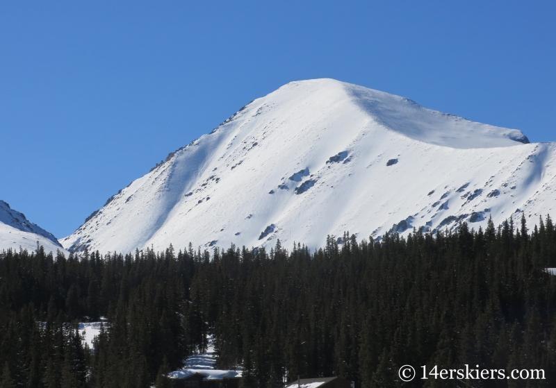Quandary Peak - Cristo Couloir Ski