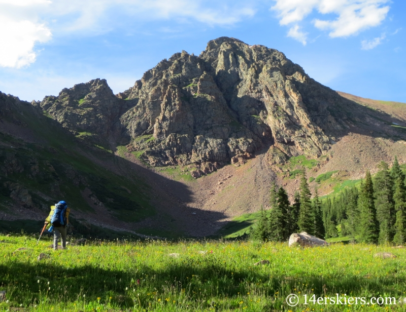Backpacking in the Gore Range - Snow Peak