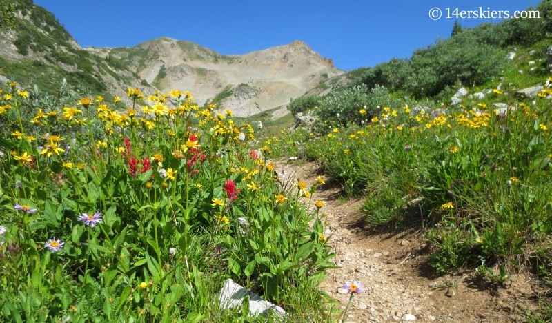 From Crested Butte to Aspen- Hiking East Maroon Pass