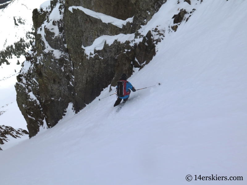 Crested Butte Backcountry - Purple S Couloir