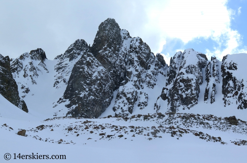 Nokhu Crags Skiing