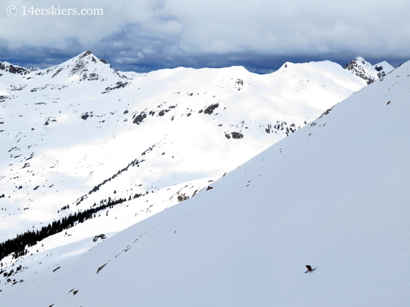 Skiing Twining Peak & Pt 13,736 (29 May 2015)